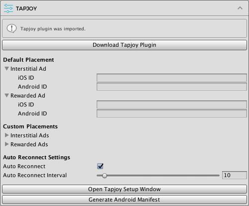 Setup Tapjoy · Easy Mobile User Guide