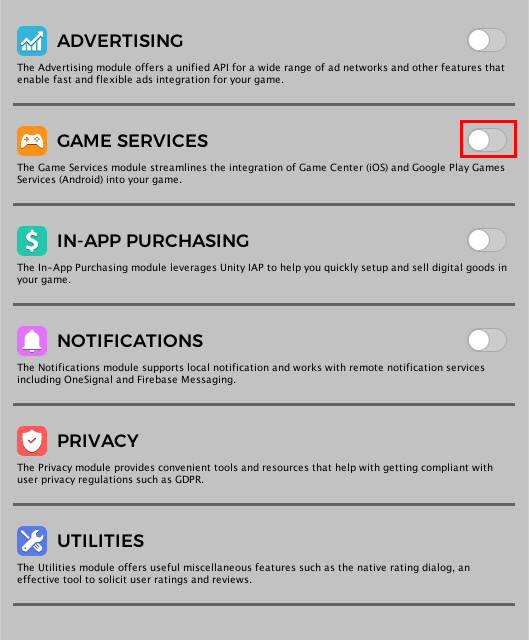 Settings · Easy Mobile User Guide
